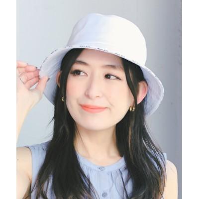 14+(ICHIYON PLUS) / 14+サンド刺繍バケットハット WOMEN 帽子 > ハット