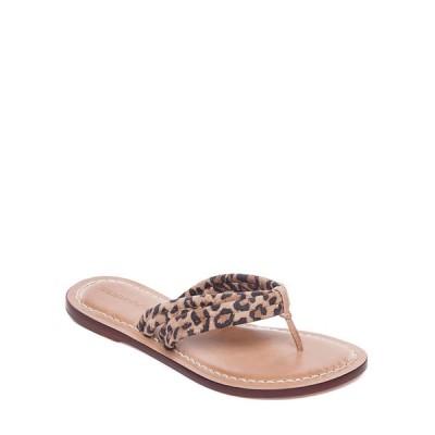 ベルナルド レディース サンダル シューズ Miami Cheetah Thong Sandals