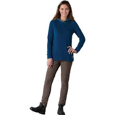 トードアンドコー パーカー・スウェットシャツ レディース アウター Toad & Co Women's Lookout Fleece Hoodie Blue Abyss