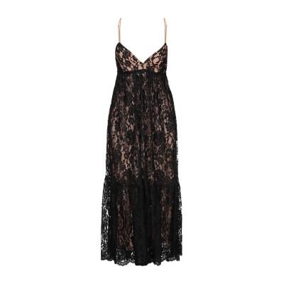 マイケル・コースコレクション MICHAEL KORS COLLECTION 7分丈ワンピース・ドレス ブラック 2 コットン 82% / ナイロン