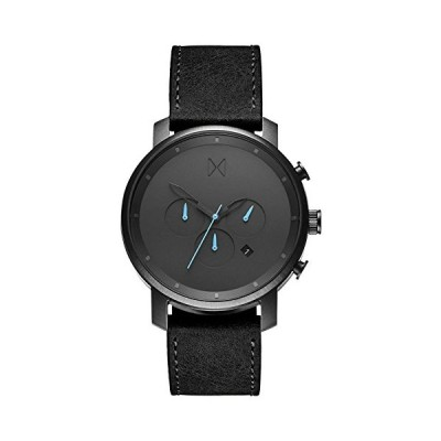 MVMT Mens Analogue Quartz Watch with Leather Calfskin Strap D-MC01-GUBL 並行輸入品