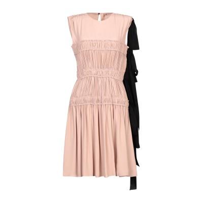 ヌメロ ヴェントゥーノ N°21 ミニワンピース&ドレス ローズピンク 40 アセテート 69% / シルク 31% ミニワンピース&ドレス