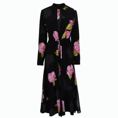 フレンチコネクション French Connection レディース ワンピース ワンピース・ドレス Floral Dress Black Multi