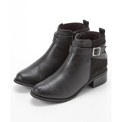 クロスベルトショートブーツ ブーツ・ブーティ, Boots