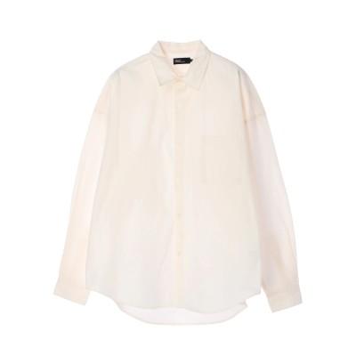 ブロードレギュラーカラーワイドシャツ