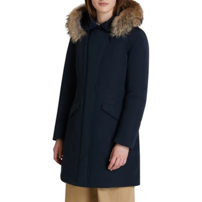 ウール リッチ レディース コート アウター Modern Vail Parka with Detachable Fur