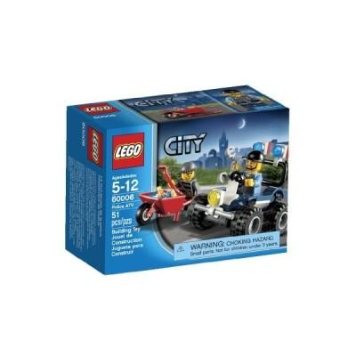 レゴ シティ 6021699 LEGO City Police ATV 60006