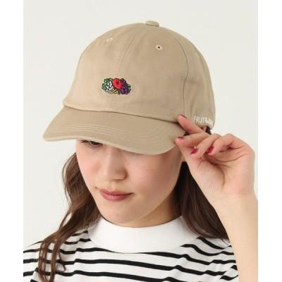 BURNER / 【FRUIT OF THE LOOM】LOGO EMB LOW CAP ロゴ キャップ WOMEN 帽子 > キャップ