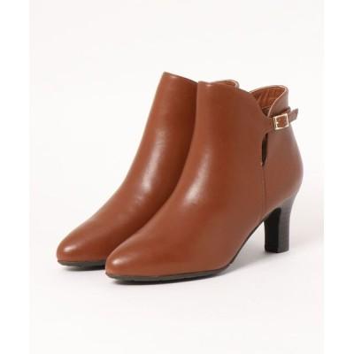 Xti Shoes / piedi nudi/ピエディヌーディ 本革 ベルト使い シンプルブーツ WOMEN シューズ > ブーツ