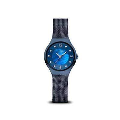 BERING Time レディ-ス スリムウォッチ 14427-393   27mmケ-ス   ソ-ラ-コレクション   ステンレススチ-ルストラップ