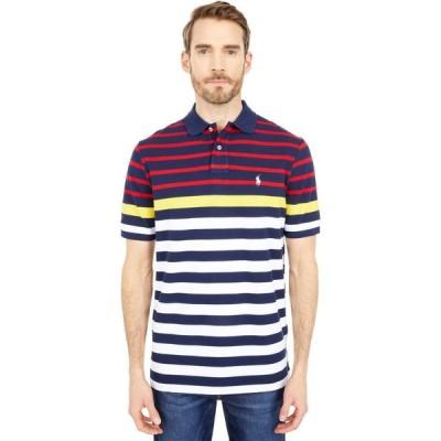 ラルフ ローレン Polo Ralph Lauren メンズ ポロシャツ トップス Classic Fit Mesh Polo Shirt Racing Yellow Multi