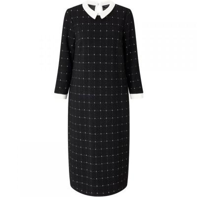 ジュームズ レイクランド James Lakeland レディース パーティードレス ワンピース・ドレス Check Dress Black