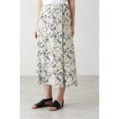 HUMAN WOMAN / アートワークプリントスカート