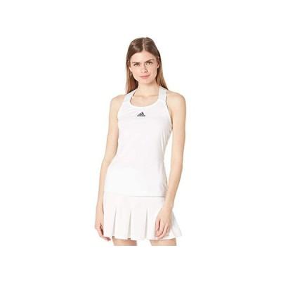アディダス Tennis Y-Tank Top レディース シャツ トップス White/Black