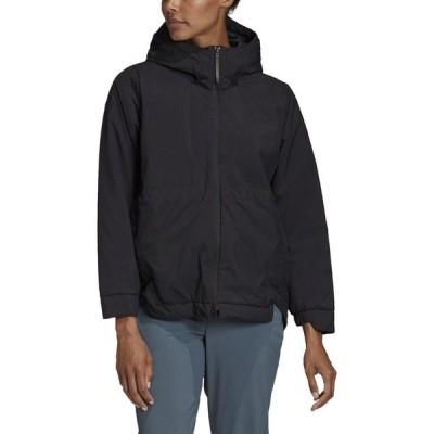 アディダス Adidas レディース ジャケット アウター urban insulation jacket Black