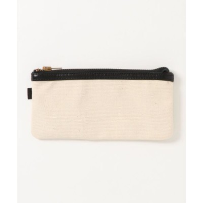 BAG IN THE DAY / 【W】【STORAGE OF VALUES】LEATHER&CANVAS POUCH MEN 財布/小物 > ポーチ