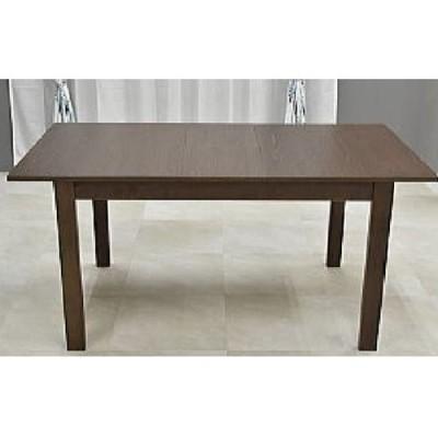 ビーチ材の伸長式ダイニングテーブル