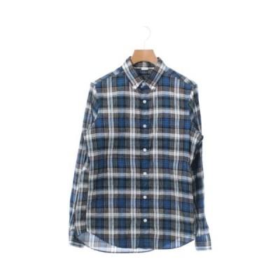BLUE WORK ブルーワーク カジュアルシャツ メンズ