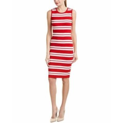 ファッション ドレス St. John Wool-Blend Dress