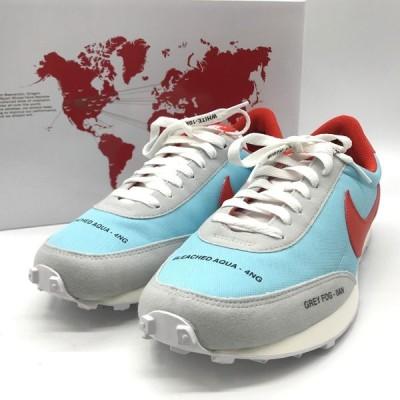 ナイキ DAY BREAK CZ8699-460 スニーカー シューズ 箱付き 購入明細書 美品 メンズ 27.5cm ブルー NIKE 靴 B4894◆