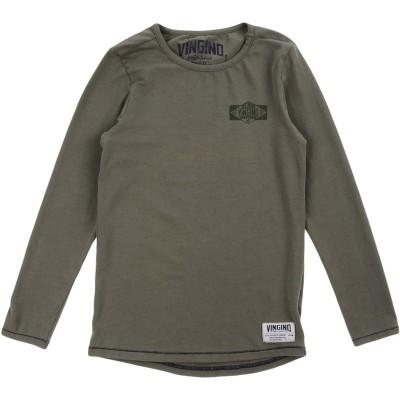 VINGINO T シャツ ミリタリーグリーン 8 コットン 95% / ポリウレタン 5% T シャツ