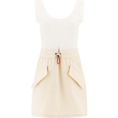 モンクレール Moncler Genius レディース ワンピース ノースリーブ ワンピース・ドレス Sleeveless Dress With Pockets White