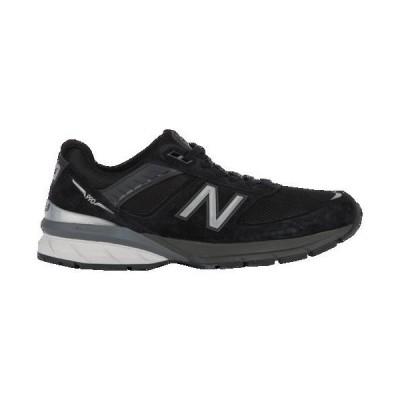 (取寄)ニューバランス メンズ 990v5 New Balance Men's 990v5 Black Silver