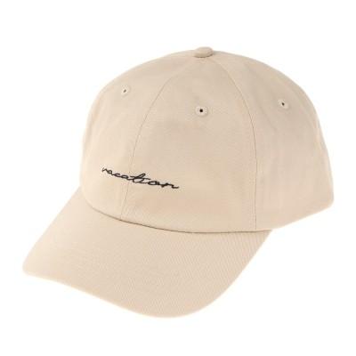 LOVERS' LANE 45帽子ツイル刺繍キャップ 121805-BEGベージュ