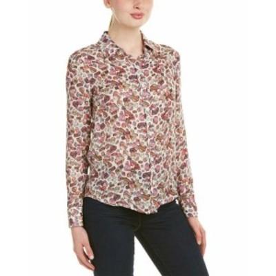 ファッション トップス Oak 73 Silk Shirt S