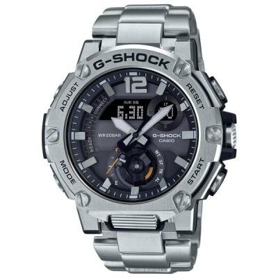 カシオ (国内正規品)G-SHOCK(ジーショック)G-STEEL CARBON CORE GUARDソーラー メンズタイプ GST-B300E-5AJR 返品種別A