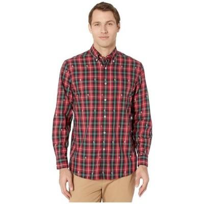 サウザーンタイド メンズ シャツ トップス Christmastide Button-Down Sport Shirt