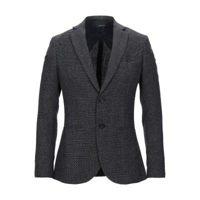 YOON テーラードジャケット ダークブルー 58 バージンウール 46% / コットン 43% / リネン 11% テーラードジャケット