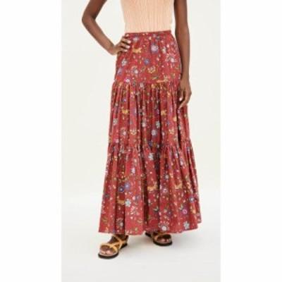 ラダブルジェー La Double J レディース スカート Big Skirt Babe Bordeaux