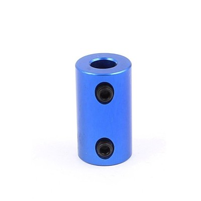 uxcell カプラージョイント 継ぎ手コネクター 3mmサイドスレッドダイヤ 25mm長 1個