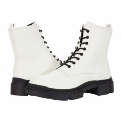 Nine West ナインウエスト レディース 女性用 シューズ 靴 ブーツ レースアップ 編み上げ Arde White【送料無料】