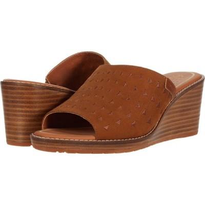 ペンドルトン Pendleton レディース サンダル・ミュール ウェッジソール シューズ・靴 Peconic Wedge Caramel Caf?