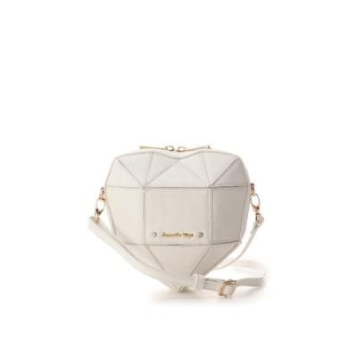 【サマンサベガ】 ホリデーコレクション ラメハートバッグ(大) レディース ホワイト FREE SAMANTHAVEGA