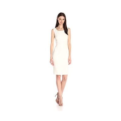 Kasper レディース Sheath ドレス, Vanilla アイス, 12(海外取寄せ品)