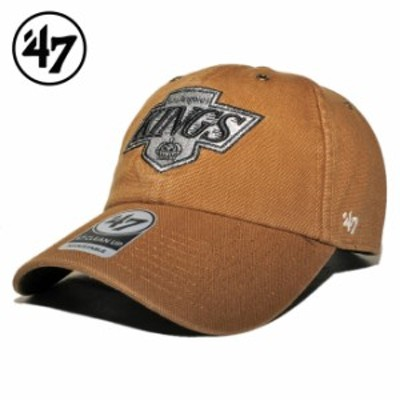 47ブランド カーハート コラボ ストラップバックキャップ 帽子 メンズ レディース 47BRAND CARHARTT NHL ロサンゼルス キングス フリーサ