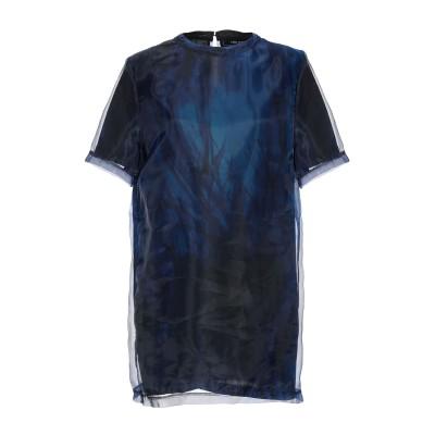 ニール・バレット NEIL BARRETT ミニワンピース&ドレス ブルー S ポリエステル 100% ミニワンピース&ドレス