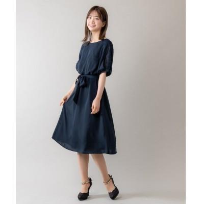 ドレス 袖レースドレス(9R04-09052)