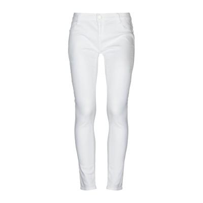 CRISTINAEFFE パンツ ホワイト 32 指定外繊維(テンセル)  64% / コットン 34% / ポリウレタン 2% パンツ