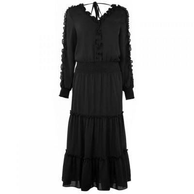 ビバ Biba レディース ワンピース ワンピース・ドレス Frill Tier Dress Black