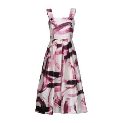 ドルチェ & ガッバーナ DOLCE & GABBANA 7分丈ワンピース・ドレス ホワイト 40 シルク 100% 7分丈ワンピース・ドレス