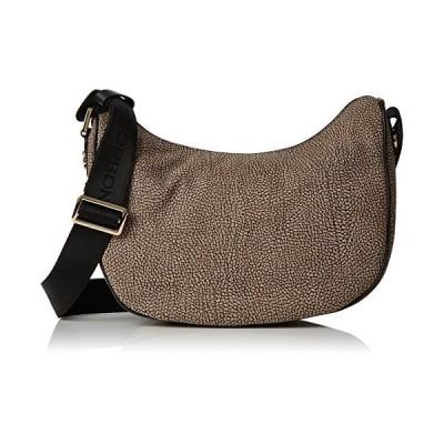 Borbonese Women's 963794695 Shoulder Bag Grey Grey (Grigio 695) 並行輸入品