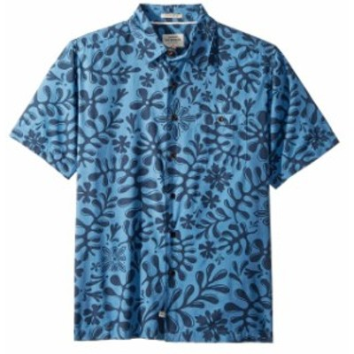 Quiksilver クイックシルバー ファッション アウター Quiksilver NEW Blue Mens Size Small S Button Down Comfort Fit Shirt