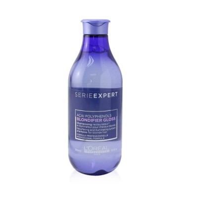ロレアル シャンプー L'Oreal Professionnel Serie Expert Blondifier Gloss Acai Polyphenols Resurfacing and Illuminating System Shampoo (For