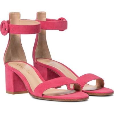 ジャンヴィト ロッシ Gianvito Rossi レディース サンダル・ミュール シューズ・靴 versilia 60 suede sandals Ruby Rose