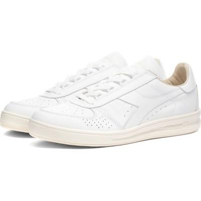 ディアドラ Diadora メンズ スニーカー シューズ・靴 b.elite h italia sport White/White