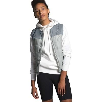 ノースフェイス ジャケット・ブルゾン レディース アウター The North Face Women's Pardee Insulated Vest Tin Grey / Mid Grey